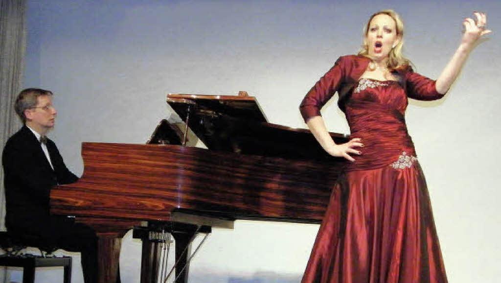 Opernsngerin Kathrin Frey verzaubert ihre Heimat  Bonndorf  Badische Zeitung