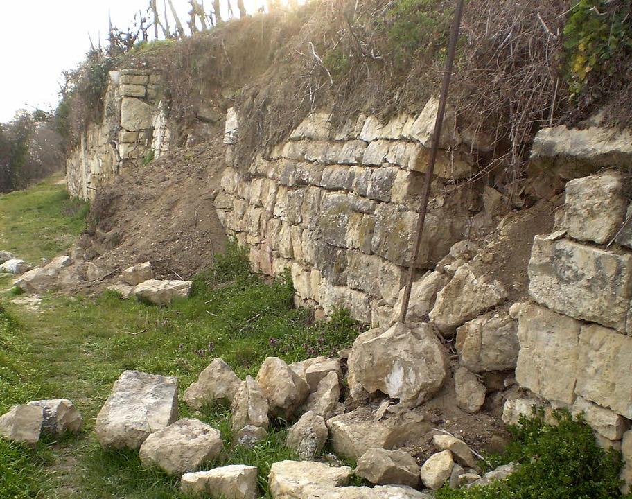Wer bezahlt die Sanierung der Mauer? - Efringen-Kirchen - Badische
