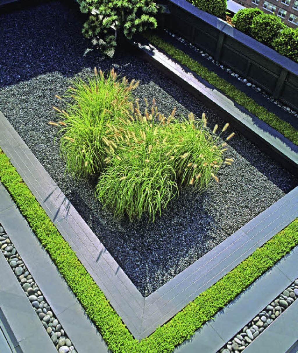 Der Moderne Garten Als Puristischer Ruhepol  Haus