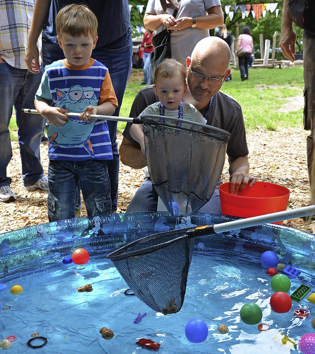 Sommerfest mit Spiel Sport und Spa  Rheinfelden