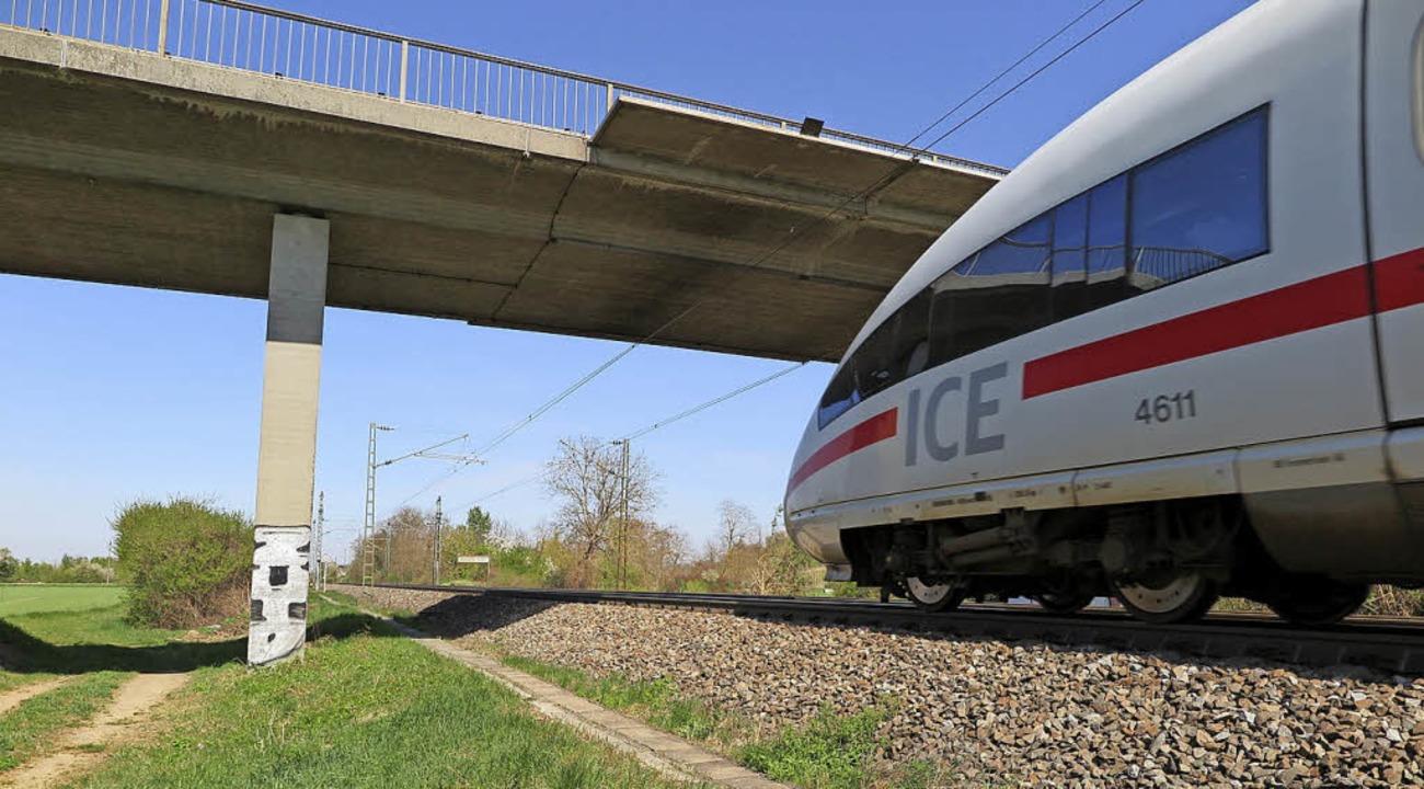 Bevor die Neubaustrecke kommt, müssen ... -unterführungen neu gestaltet werden. | Foto: Beatrice Ehrlich