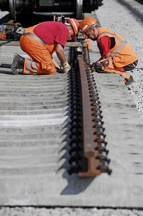 Im Januar sollen die Bauarbeiten für d...Sieben Jahre sind dafür veranschlagt.   | Foto:  dpa