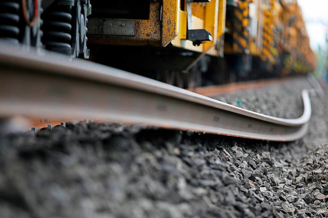 Streckenausbau bei Müllheim beginnt im Januar.  | Foto: Oliver Berg