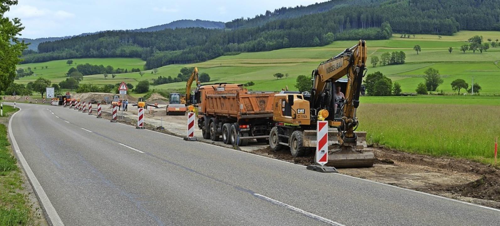 Ampelbetrieb und Staus ab Mitte Juni - Winden im Elztal - Badische Zeitung
