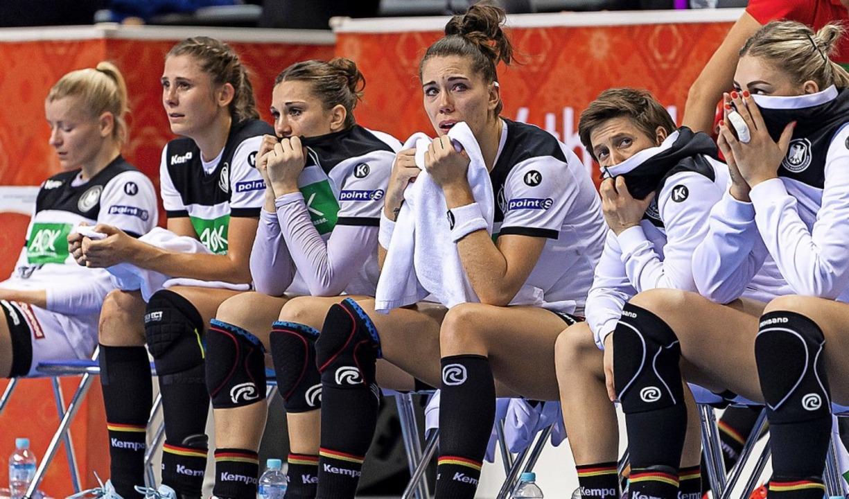 die deutschen handball frauen verpassen