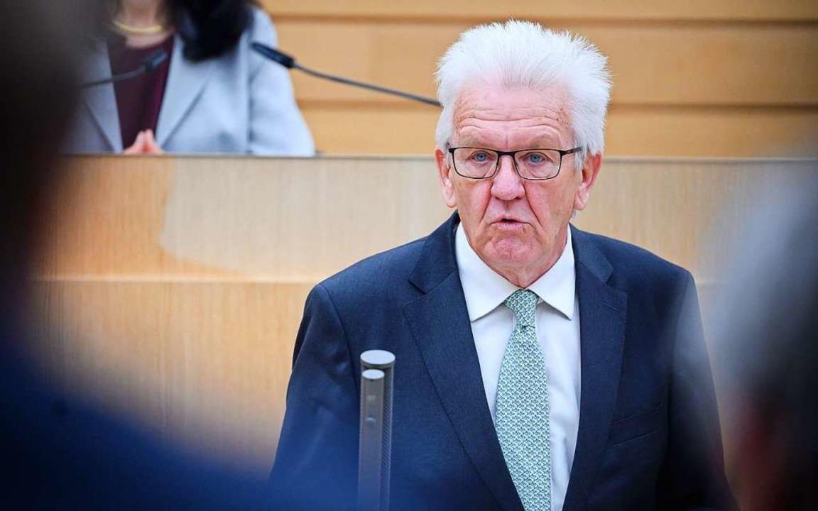 ministerprasident kretschmann liest den