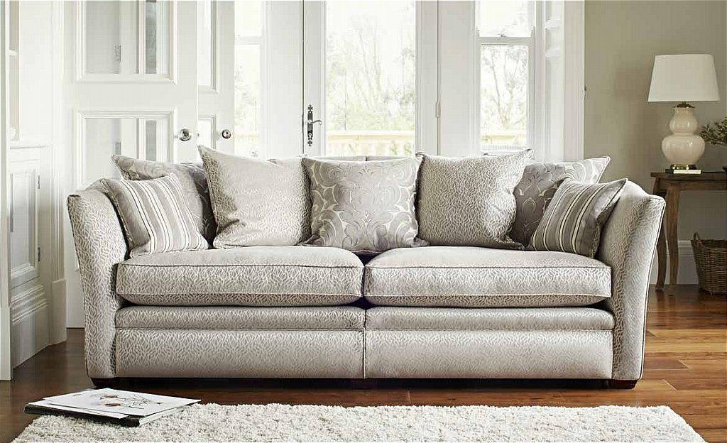 Parker Knoll Burlington Grand Pillow Back Sofa