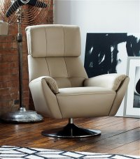 Parker Knoll - Evolution 1703 Leather Swivel Chair