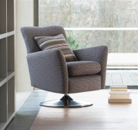 Parker Knoll - Evolution 1704 Swivel Chair in Fabric