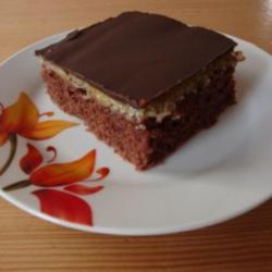 Grieß Schoko Blechkuchen   Rezept mit Bild   kochbar.de