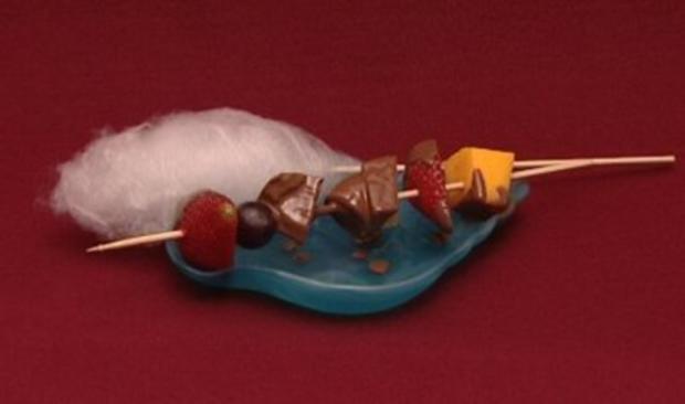 Schokoladenbrunnen mit Obst Sabrina Lange  Rezept