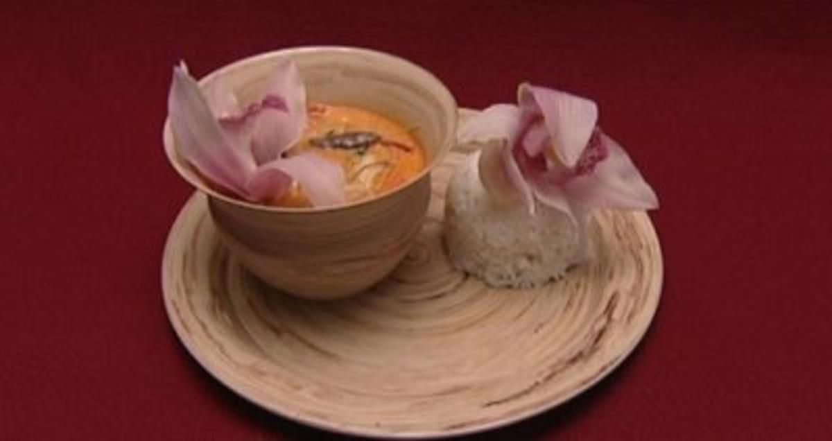 Rotes ThaiCurry mit Hhnchen und Reis Sarah Tkotsch