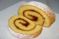 Biskuitroulade / Swiss roll - Rezept mit Bild - kochbar.de