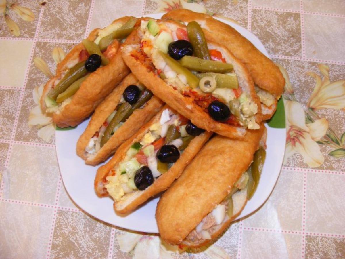 FRIKASSE  Tunesisches Sandwich  Rezept  kochbarde