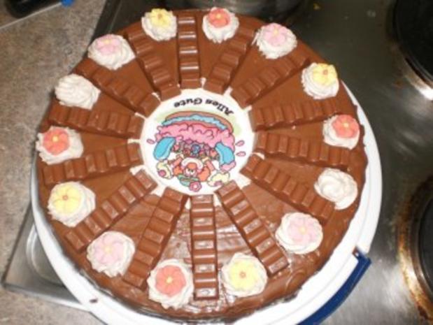 KinderSchokolade Torte  Rezept mit Bild  kochbarde