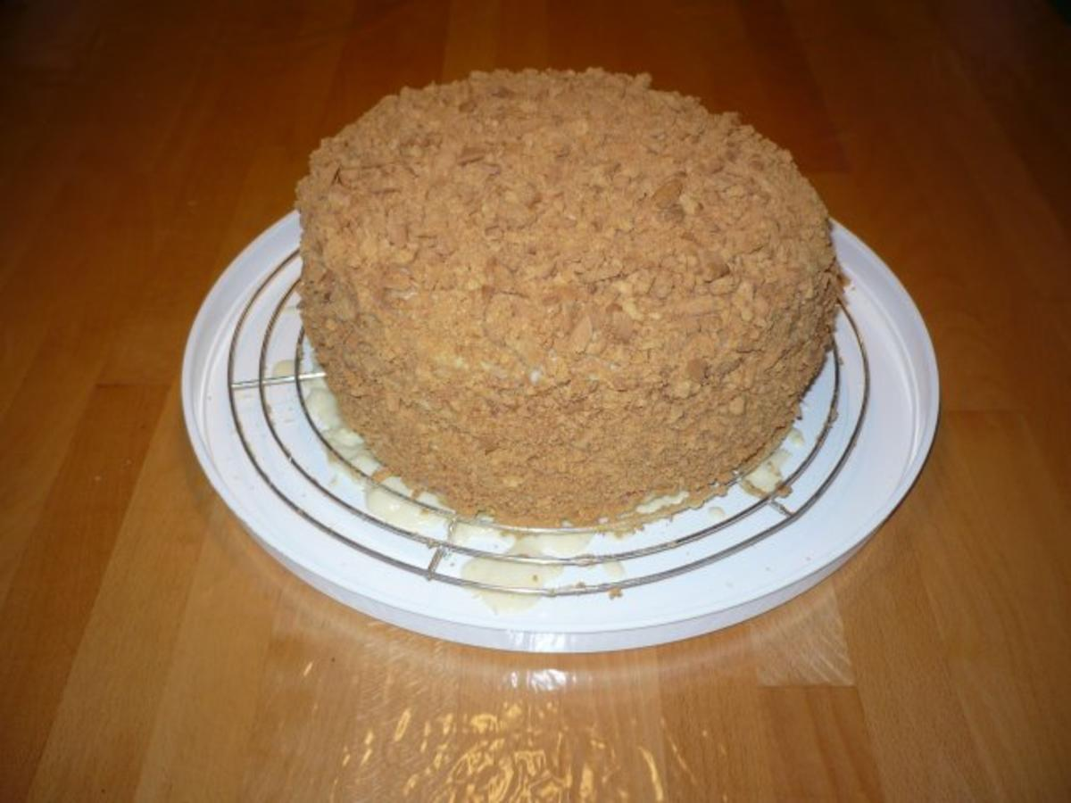 Napoleon  Kuchen  Rezept mit Bild  kochbarde