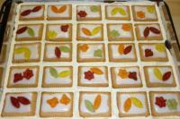 Zitronen-Butterkeks-Kuchen ( Gummibrchen - Kuchen ...