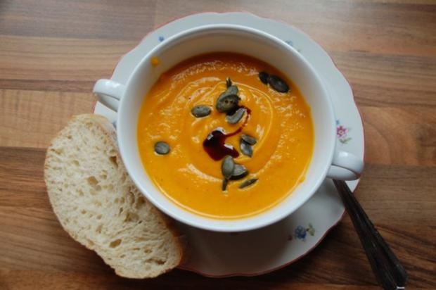 HokkaidoKrbis Suppe  Rezept mit Bild  kochbarde