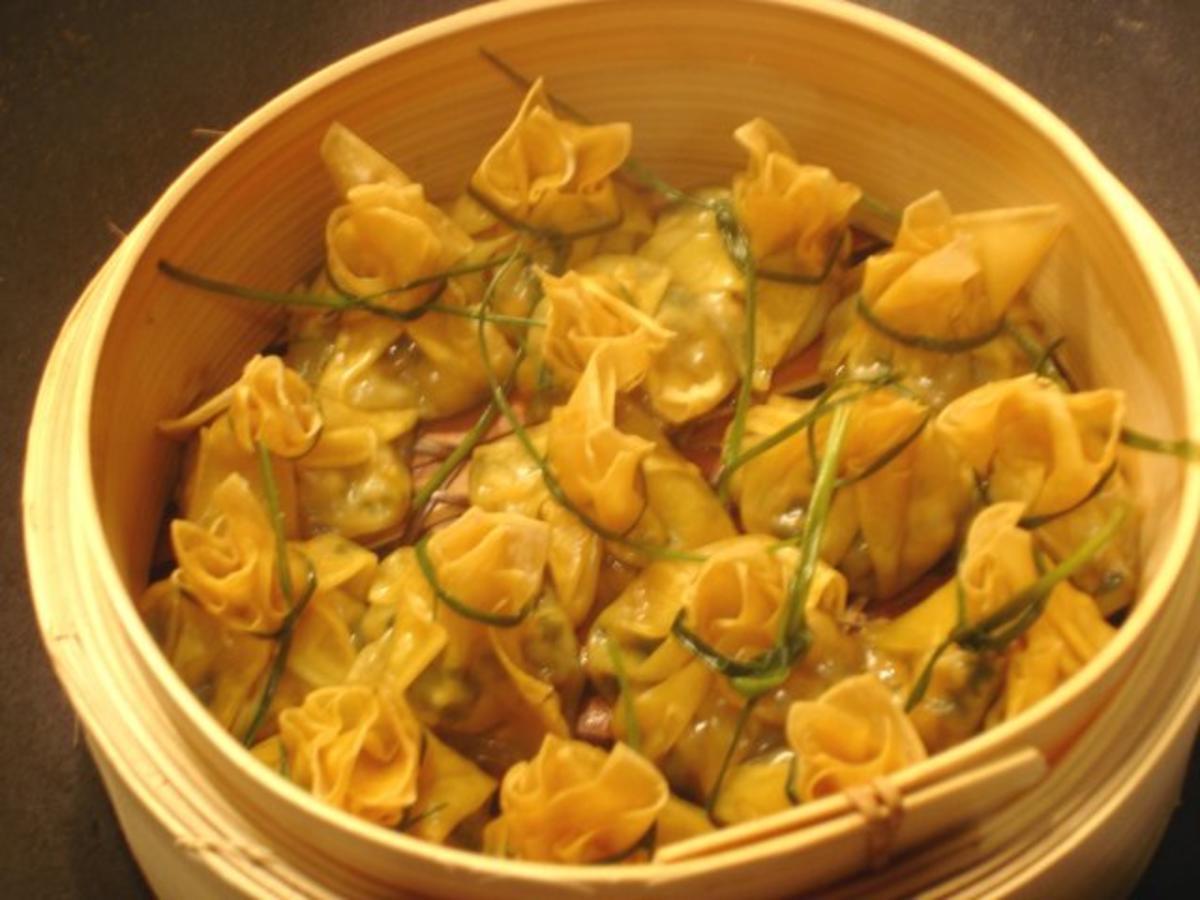 Vegetarische WanTan  Rezept mit Bild  kochbarde
