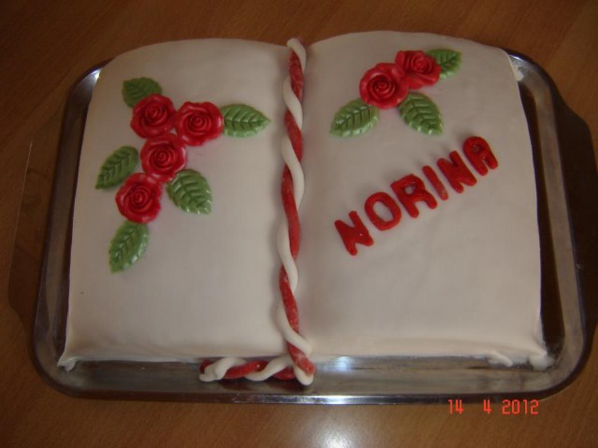 Kuchen  Torten  Geflltes Tortenbuch  Rezept  kochbarde