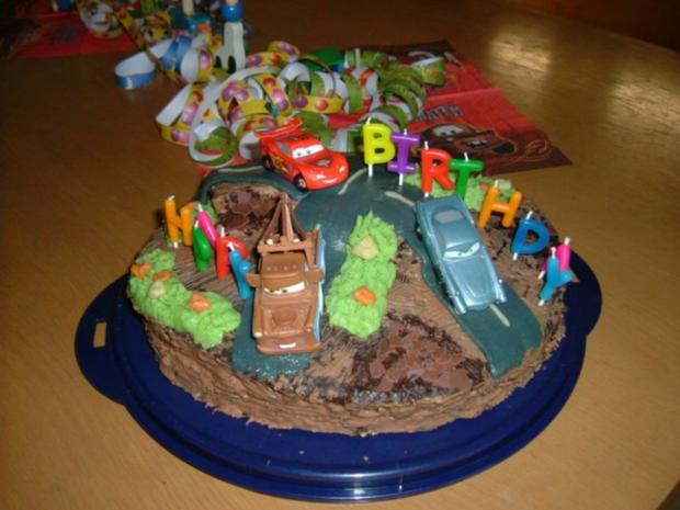 Geburtstags Torte fr coole Jungs  Rezept  kochbarde