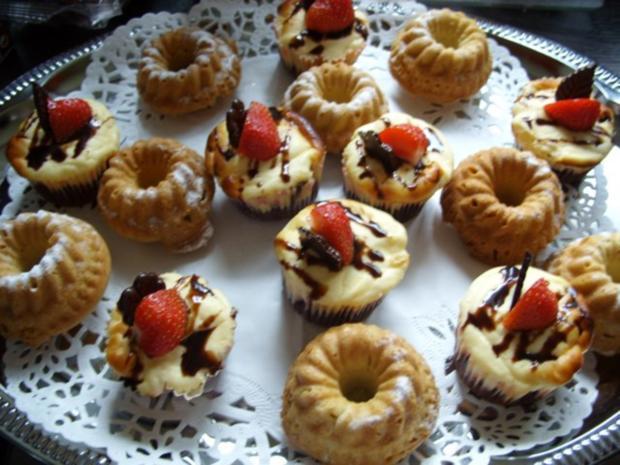 Kleine Kuchen Minigugelhupfe  Rezept mit Bild  kochbarde