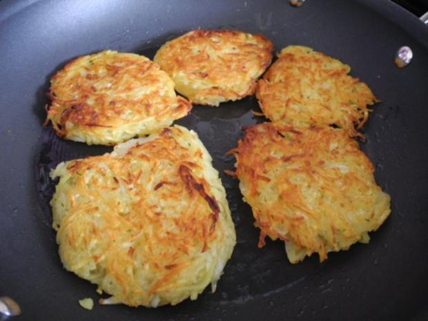 Vegan  Kartoffelpuffer  Reibekuchen  Rezept  kochbarde