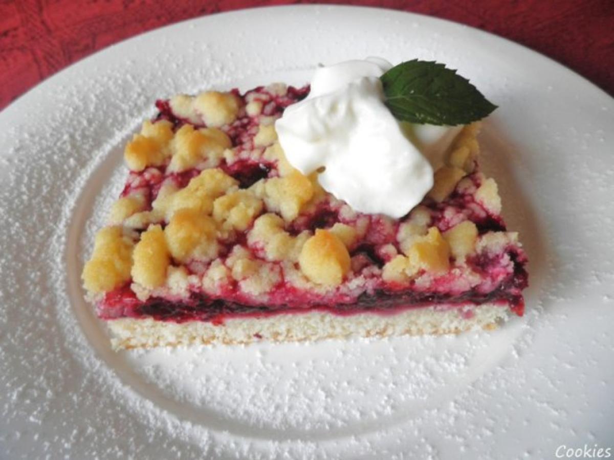 Kleiner Brombeer  Kuchen  Rezept mit Bild  kochbarde