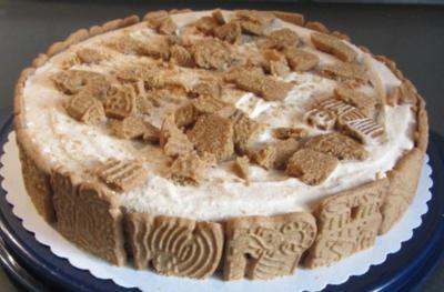 10 Spekulatius Torte ohne Backen Rezepte  kochbarde