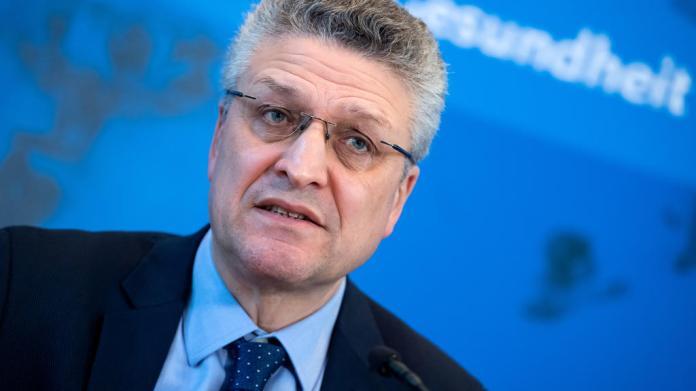 The head of the Robert Koch Institute Lothar Wieler addresses a news conference on the coronavirus disease (COVID-19) in Berlin, Germany, March 23, 2020. Bernd von Jutrczenka / Pool via REUTERS