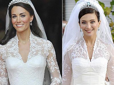 Das Brautkleid Von Kate Middleton Gab Es Schon Einmal