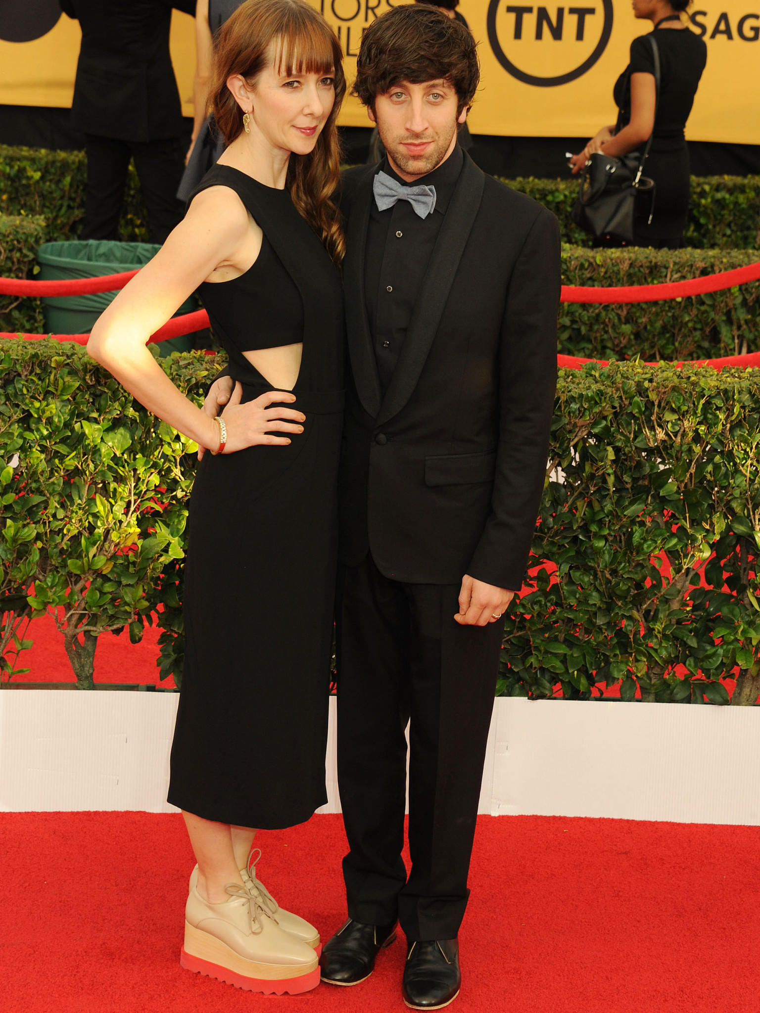 Roter Teppich Interview Sag Awards So Elegant Zeigen Sich Die 39big Bang Theory