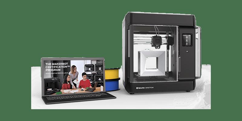 MakerBot_Sketch_Classroom_3d_printer