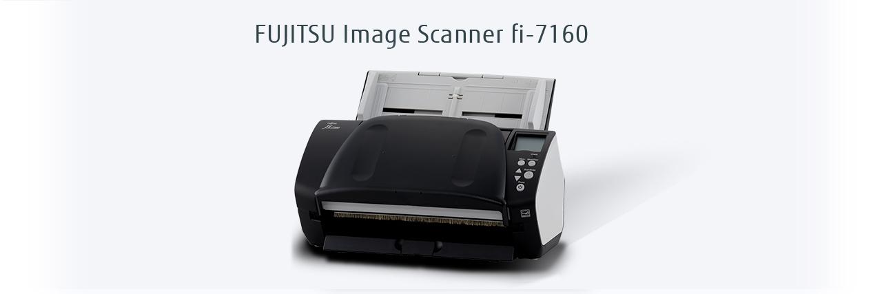 Fujitsu_fi-7160_Closed_document_image_scanner