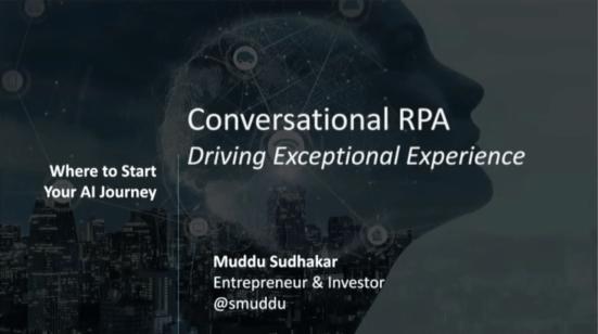 Aisera Webinar Conversational RPA Driving Exceptional Experience