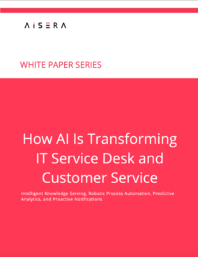 How AI Is Transforming IT Service Desk and Customer Service