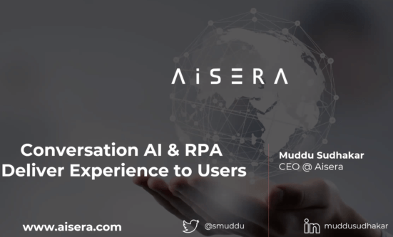 Conversational AI and RPA for Self-Service