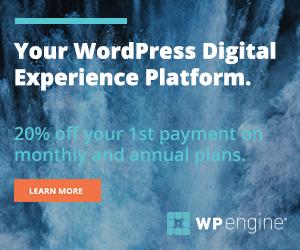 WP Engine promotion