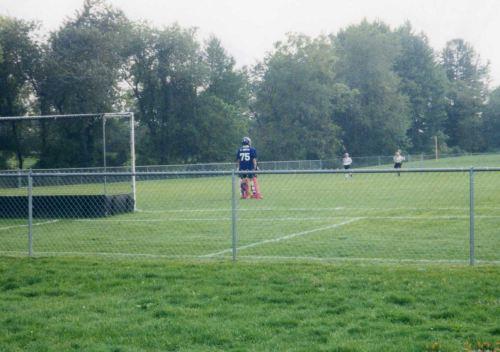 #75, Upper Moreland HS varsity starting goalie