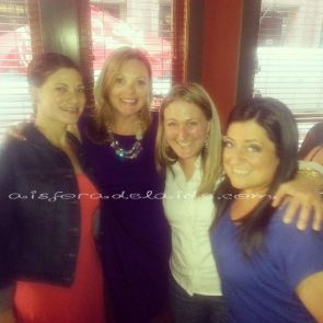 Me, cast member Jackie Hennessy of Venting Sessions, Carina and Tera of Girl Gone Healthy