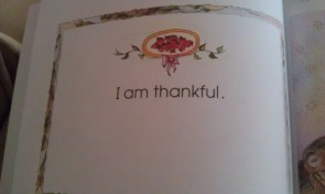 This is from the book I Believe in Me: A Book of Affirmations (Connie Bowen) that I read to Addie every week.