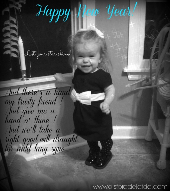 #aisforadelaide #happynewyear #2014 Let your star shine!