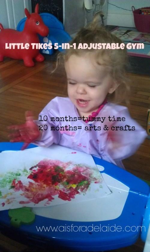 #aisforadelaide #littletikes #5inone #adjustabletable #LP #dwarfism #achondroplasia