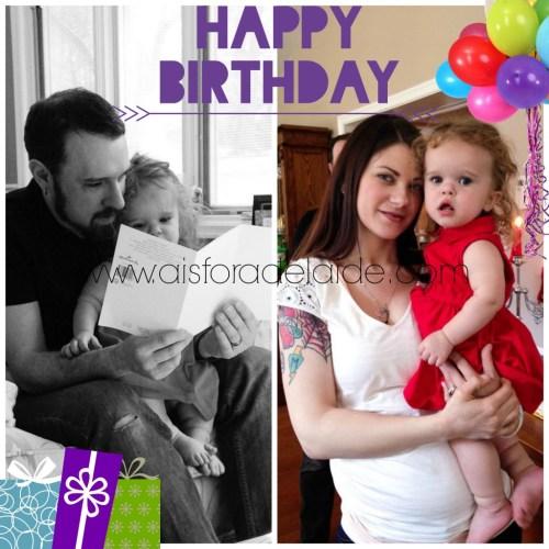 #aisforadelaide #happybirthday #AddieisTwo