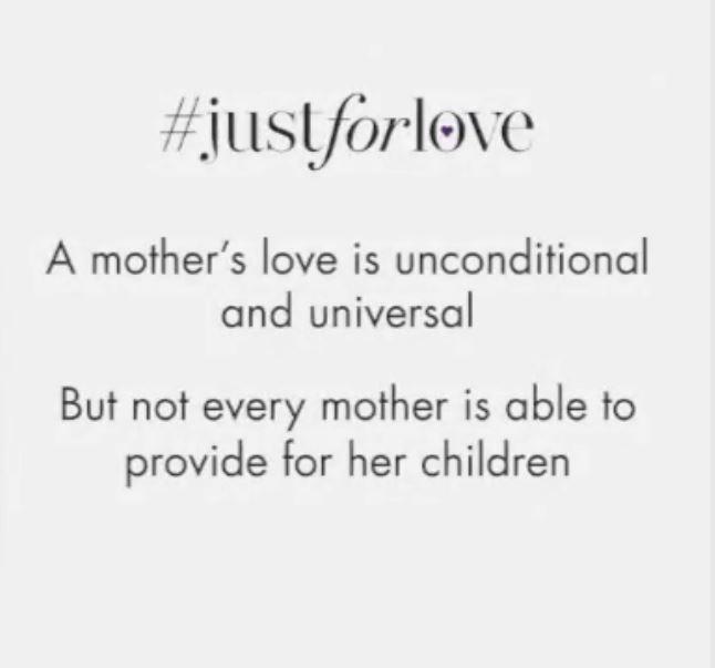 #JustforLove #amotherslove #aisforadelaide