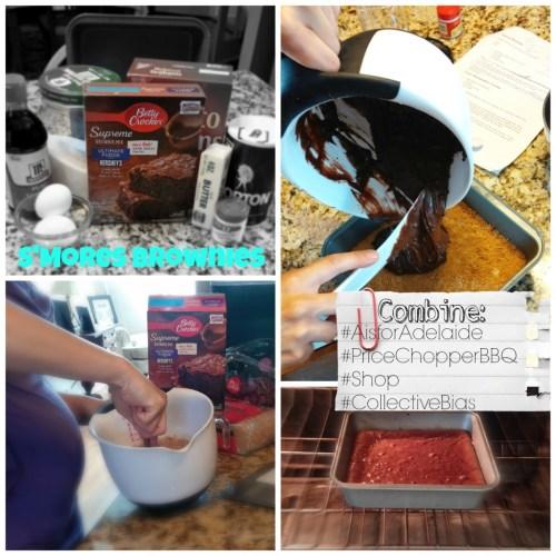 #PriceChopperBBQ #shop #Collectivebias #Aisforadelaide make brownies smo'res brownies Berry Crocker summer dessert