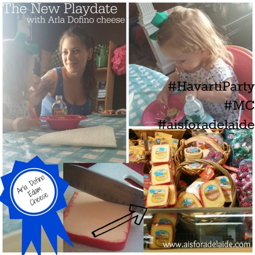 #aisforadelaide #HavartiParty #sponsored #MC The New Playdate
