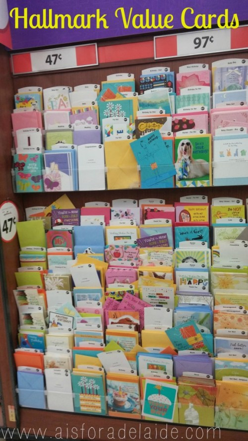 #aisforadelaide #shop #collectivebias #cbias #valuecards Hallmark's Value Cards at Walmart