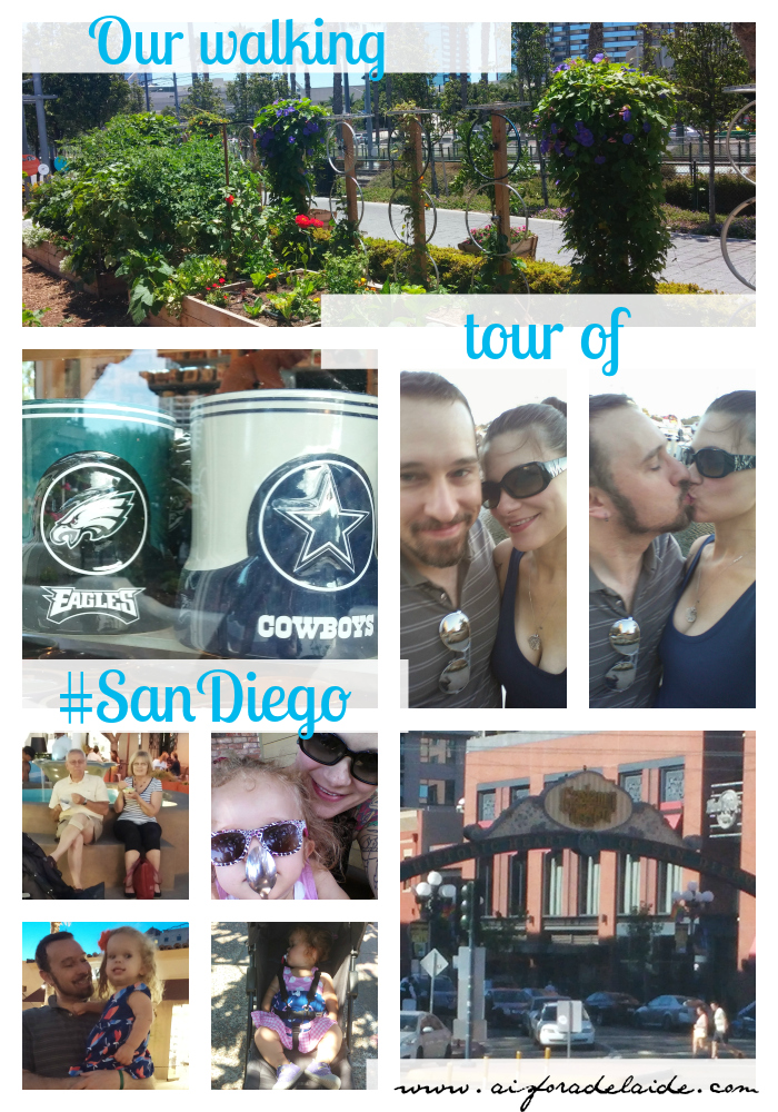 #aisforadelaide #travel San Diego #walking #tourist