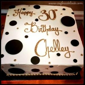 30th birthday #lochelsbakery #aisforadelaide #growingup